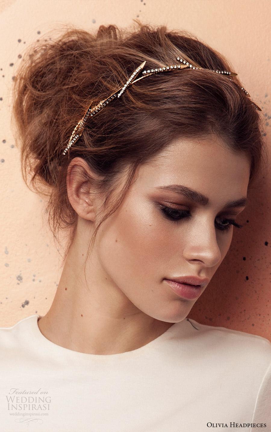 olivia headpieces 2017 bridal accessories bardot headband
