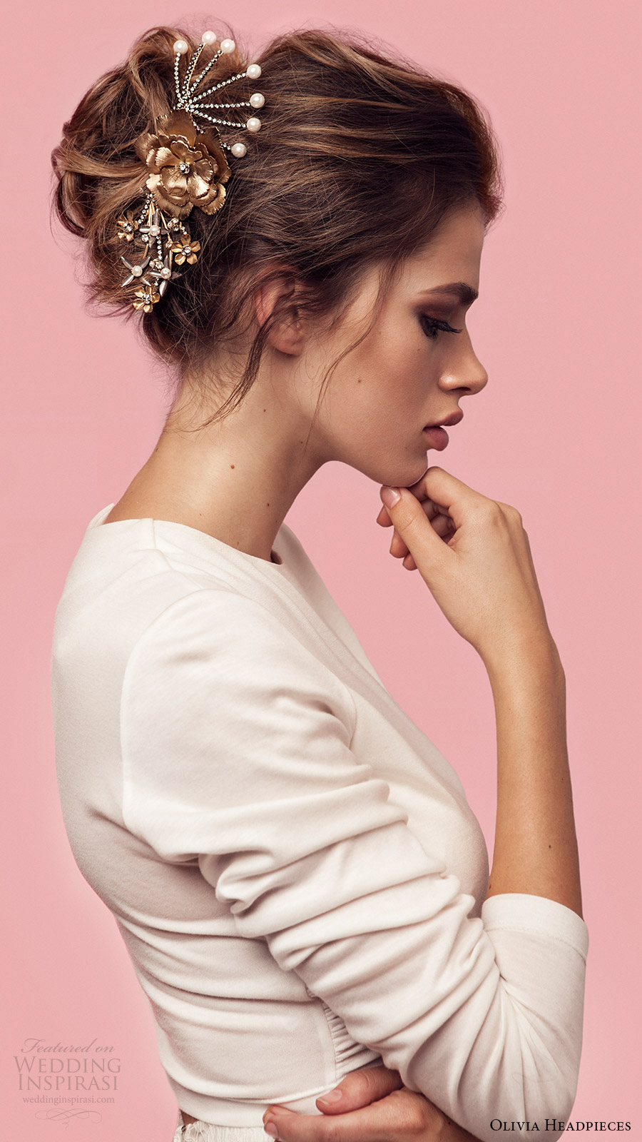 olivia headpieces 2017 bridal accessories born to be wild hair pin comb set