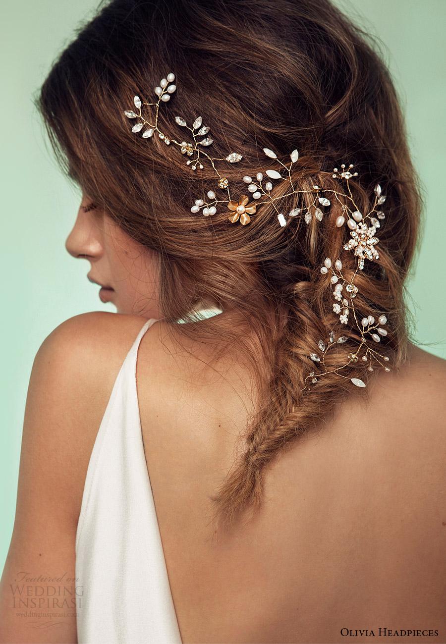 olivia headpieces 2017 bridal accessories brisk breeze hair vine