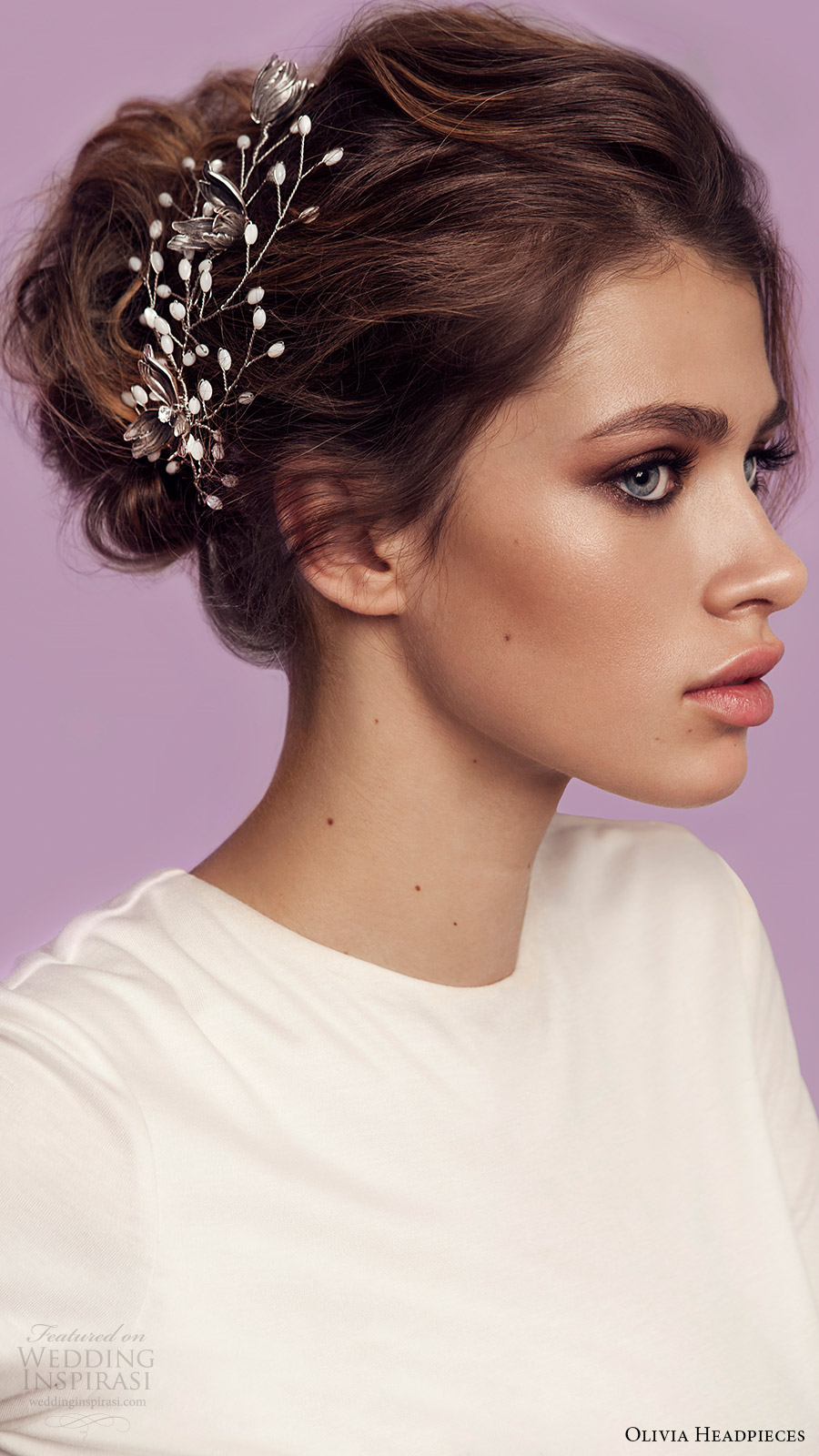 olivia headpieces 2017 bridal accessories east side hair vine silver