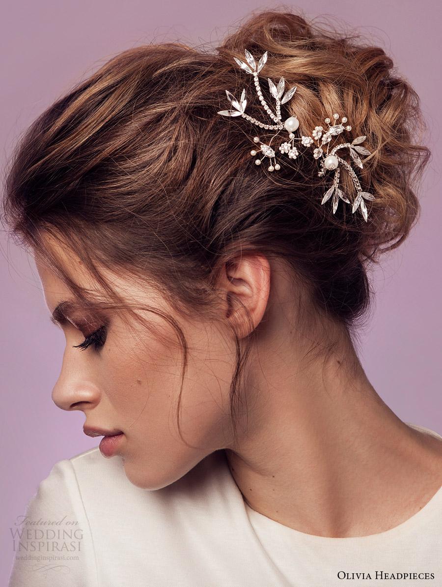 olivia headpieces 2017 bridal accessories lorena hair pins