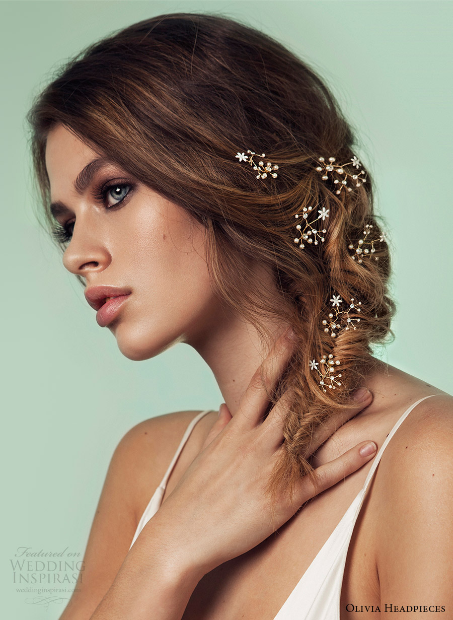 olivia headpieces 2017 bridal accessories take my breath away hairpins wedding hairstyle inspiration
