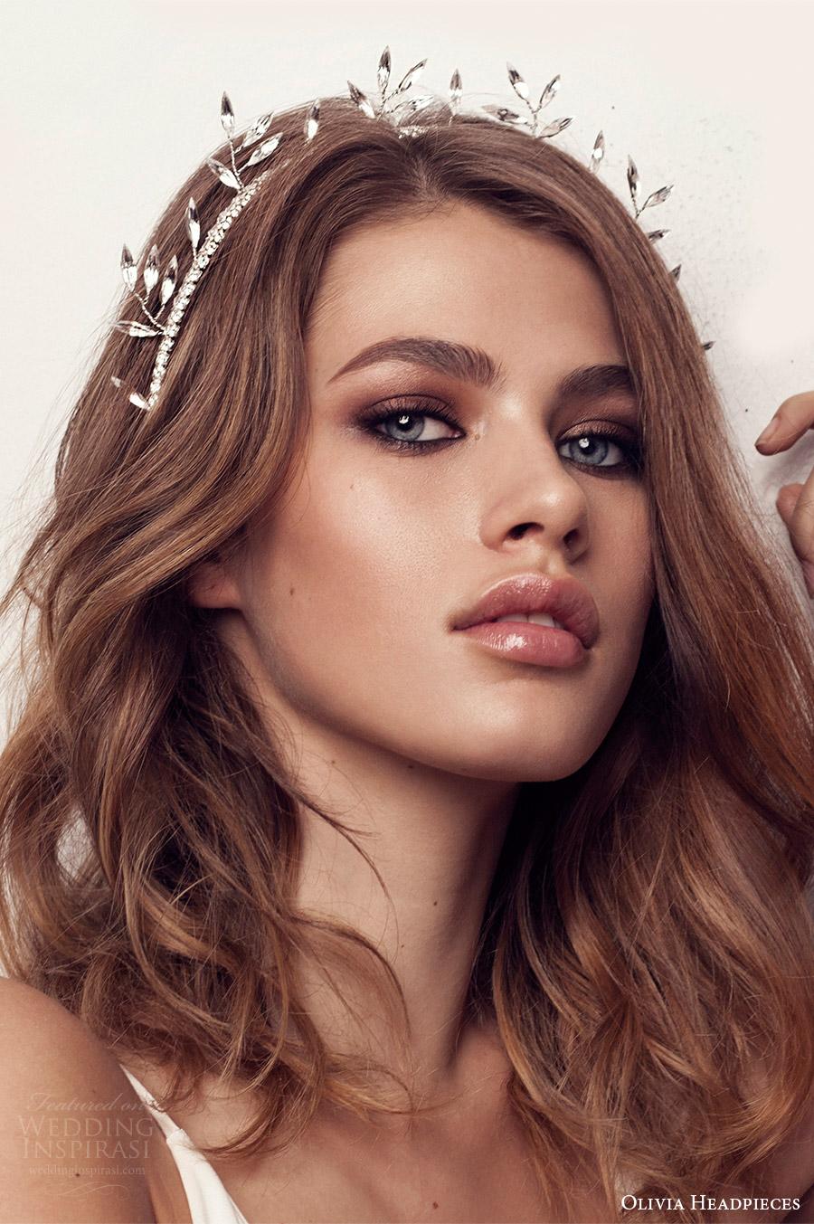 olivia headpieces 2017 bridal hair accessories walk on the wide side crystal headband wedding