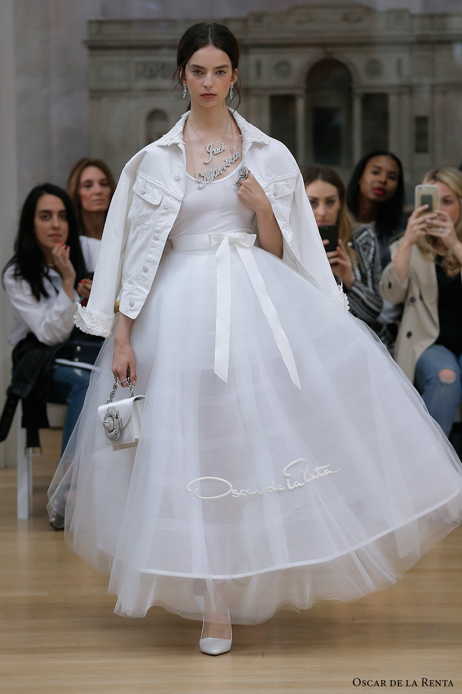 Oscar De La Renta Spring 2018 Wedding Dresses New York