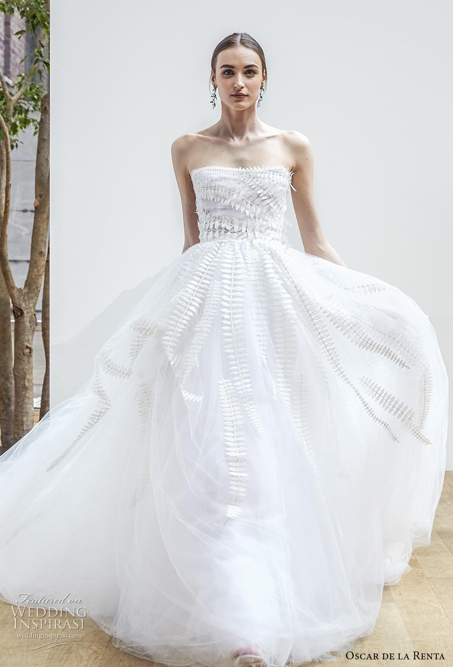 Oscar de la renta spring 2018 wedding dresses wedding for How much do oscar de la renta wedding dresses cost