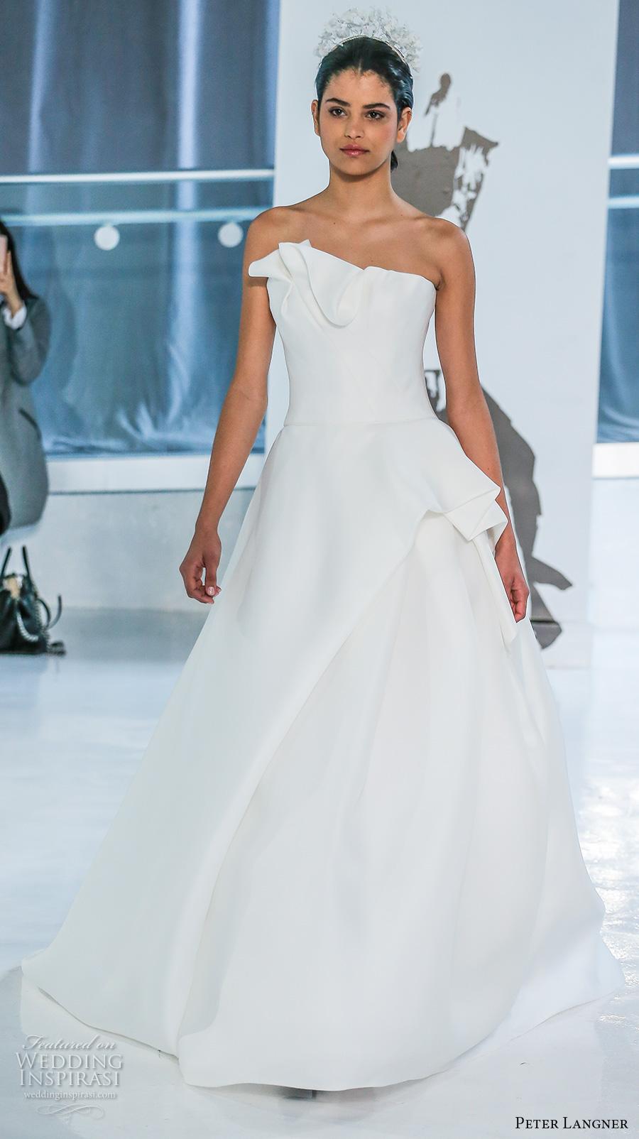 Peter Langner Spring 2018 Wedding Dresses New York