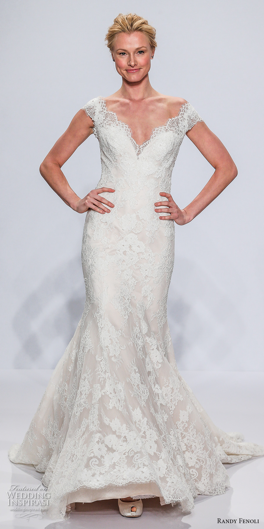 Randy fenoli bridal spring 2018 wedding dresses new york for Kleinfeld wedding dresses with sleeves