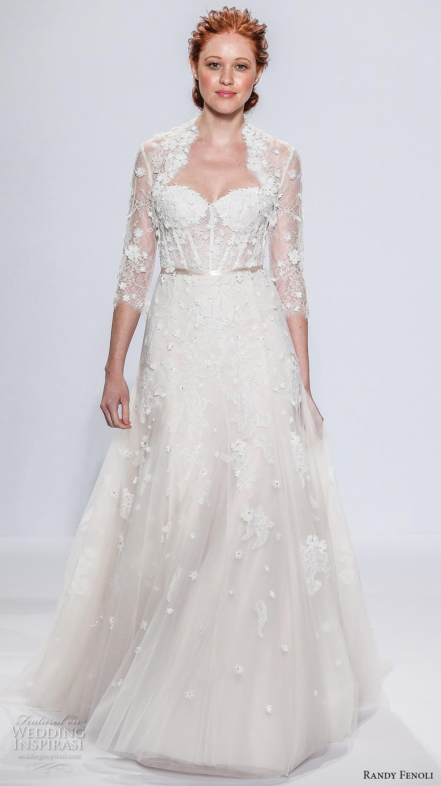 Randy Fenoli Bridal Spring 2018 Wedding Dresses New York