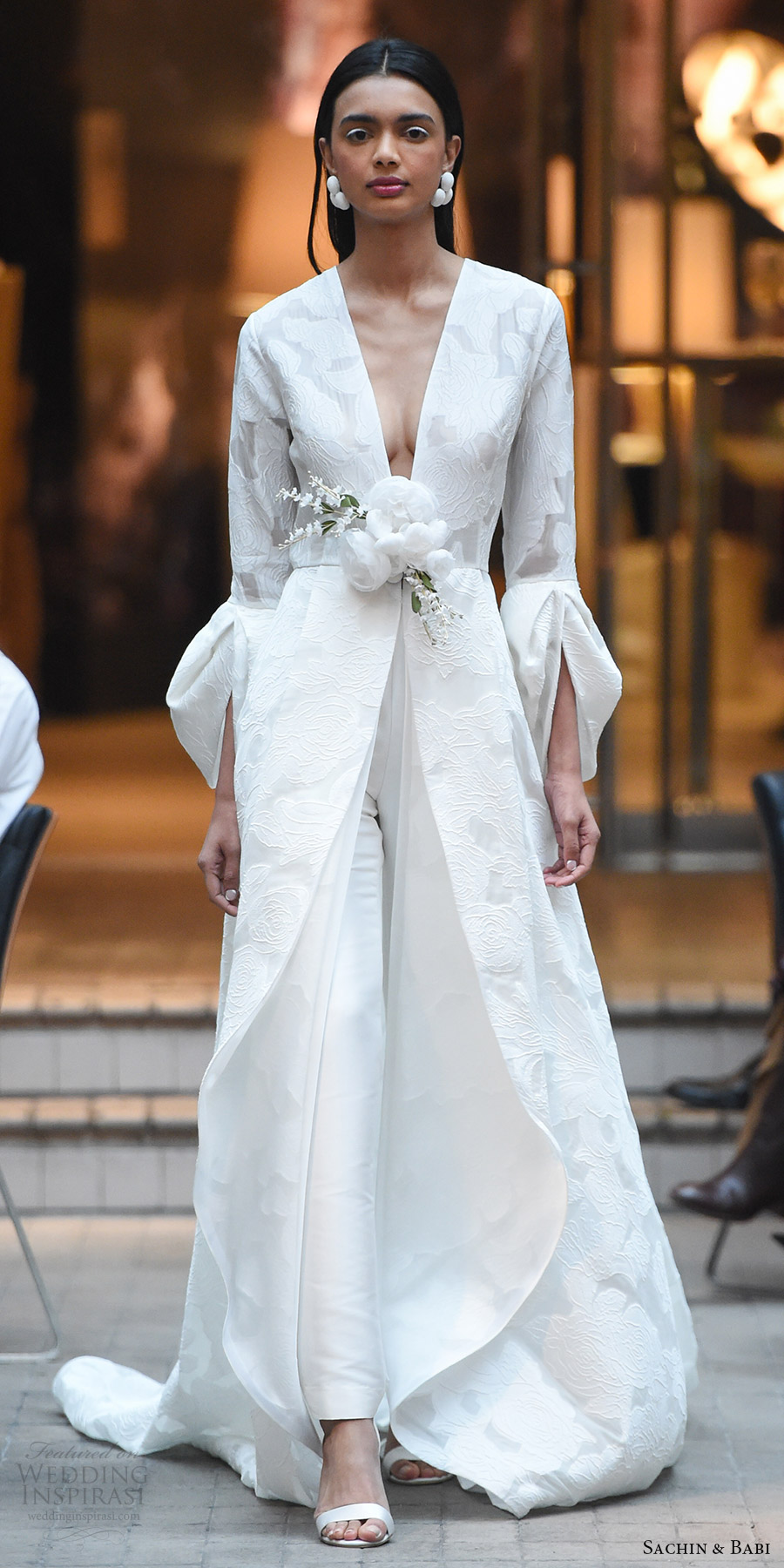 Floor Length Wedding Dresses 33 Vintage sachin babi spring bridal