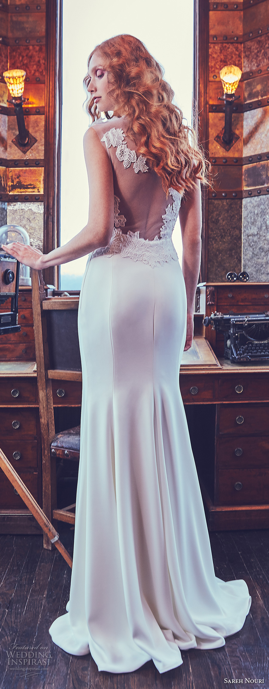 Sareh Nouri Spring 2018 Wedding Dresses Wedding Inspirasi