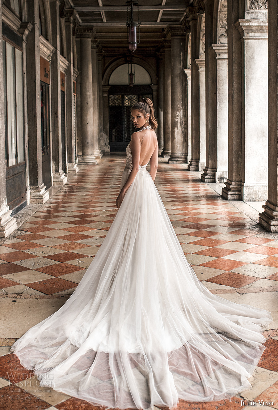 "Julie Vino Spring 2018 Wedding Dresses — ""Venezia"" Bridal Collection ..."