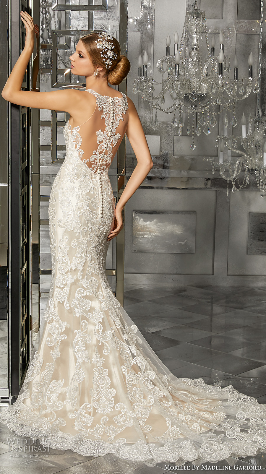 Fit And Flare Wedding Gowns 90 Cool morilee fall bridal sleeveless