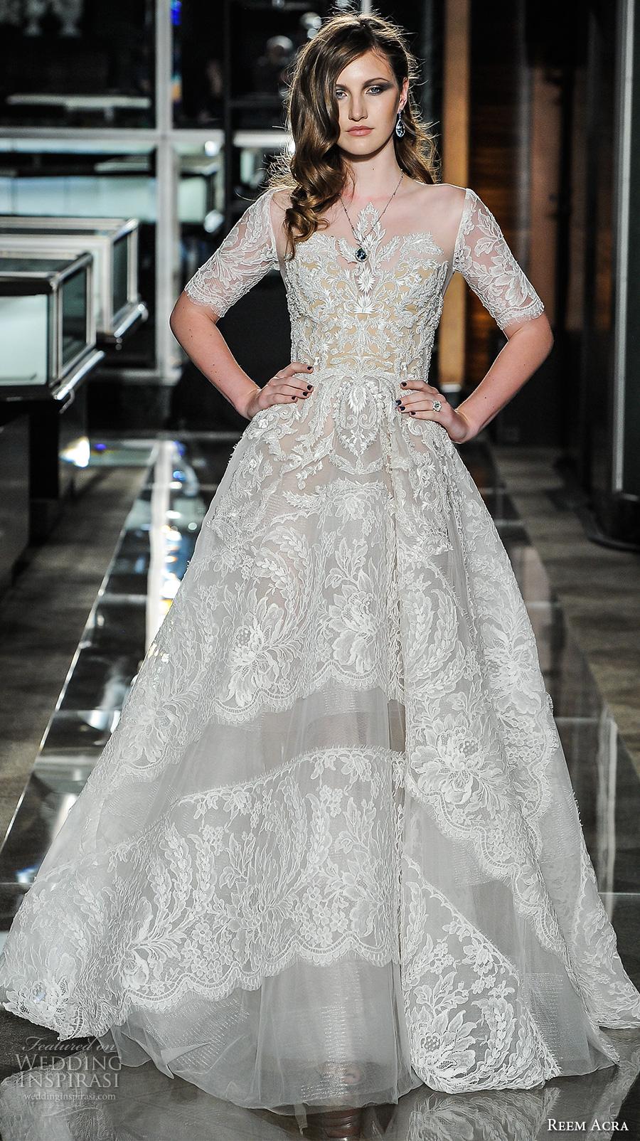 Reem Acra Wedding Gown 40 Spectacular reem acra spring bridal