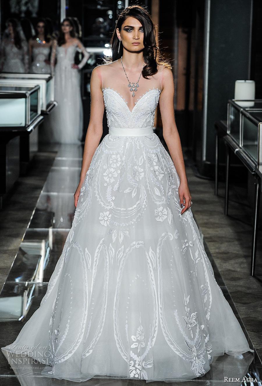 Reem Acra Wedding Gown 32 Spectacular reem acra spring bridal