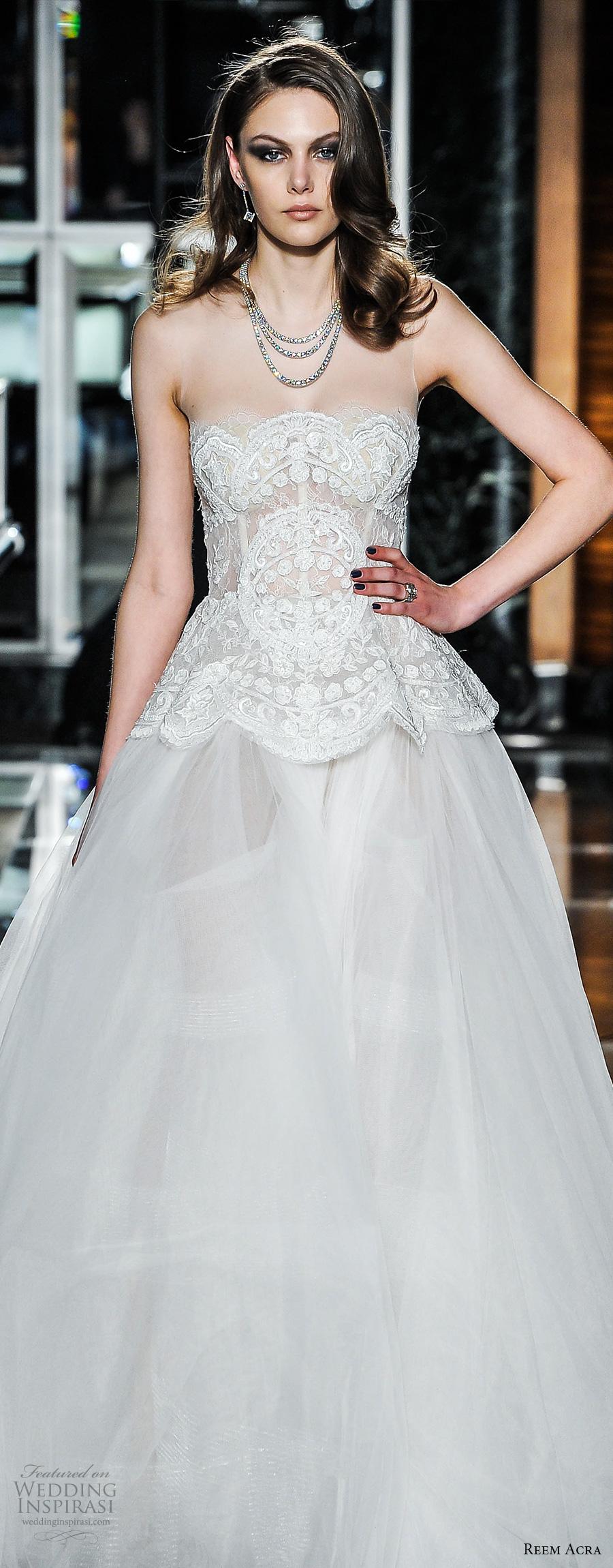 Short Tulle Wedding Dress 72 Trend reem acra spring bridal