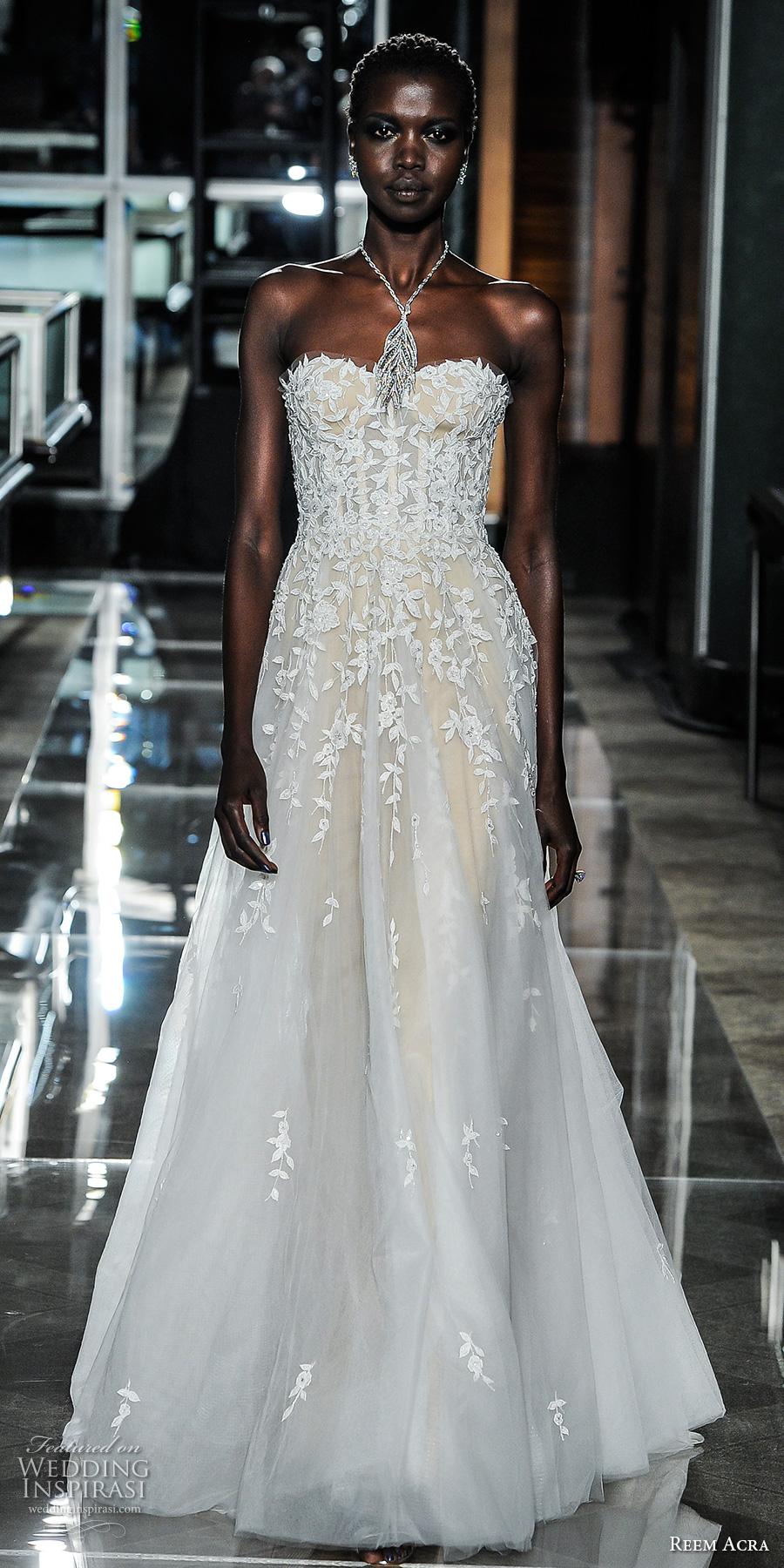 Reem Acra Wedding Gown 16 Unique reem acra spring bridal