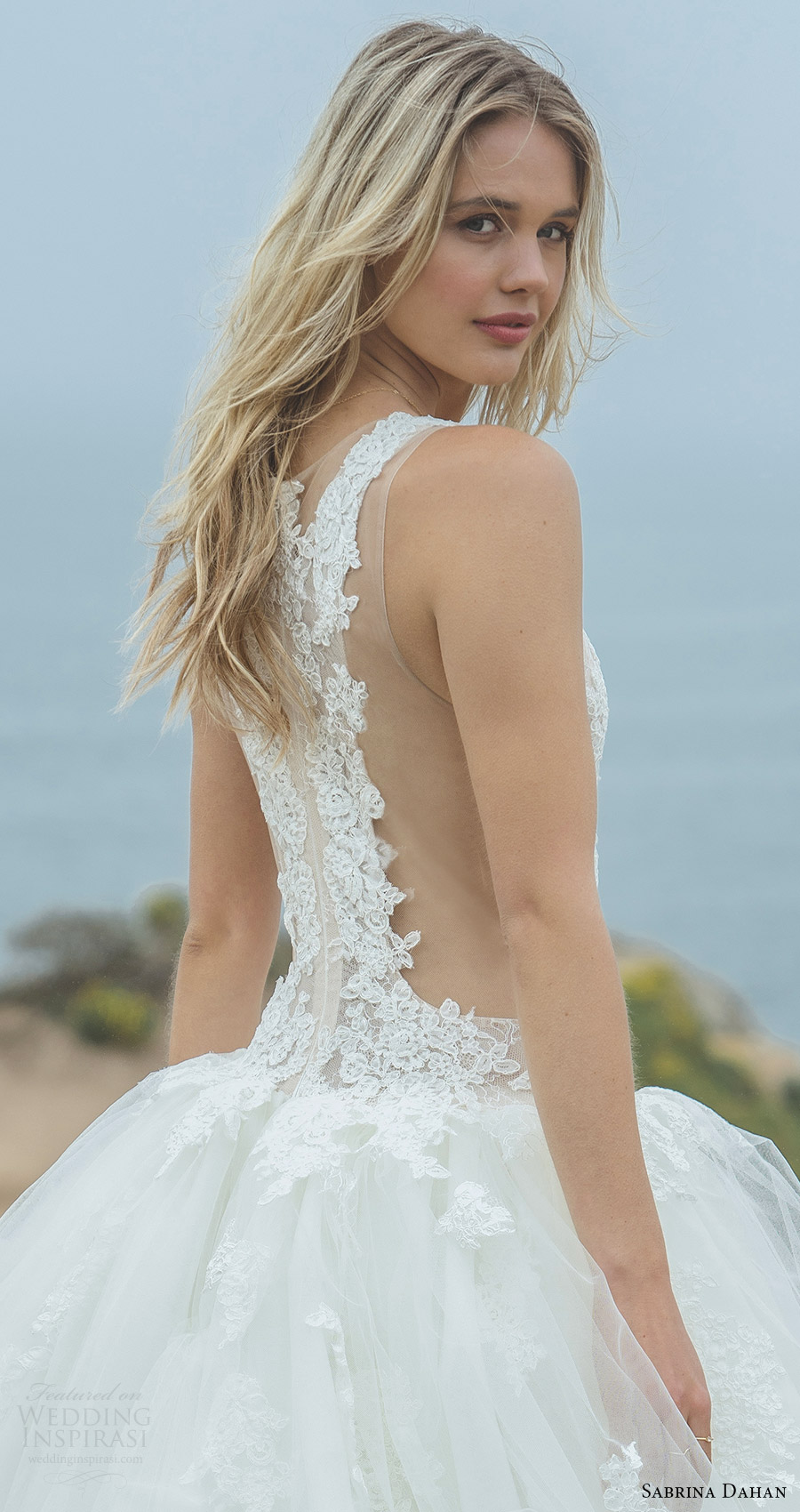Sabrina Dahan Spring 2018 Wedding Dresses