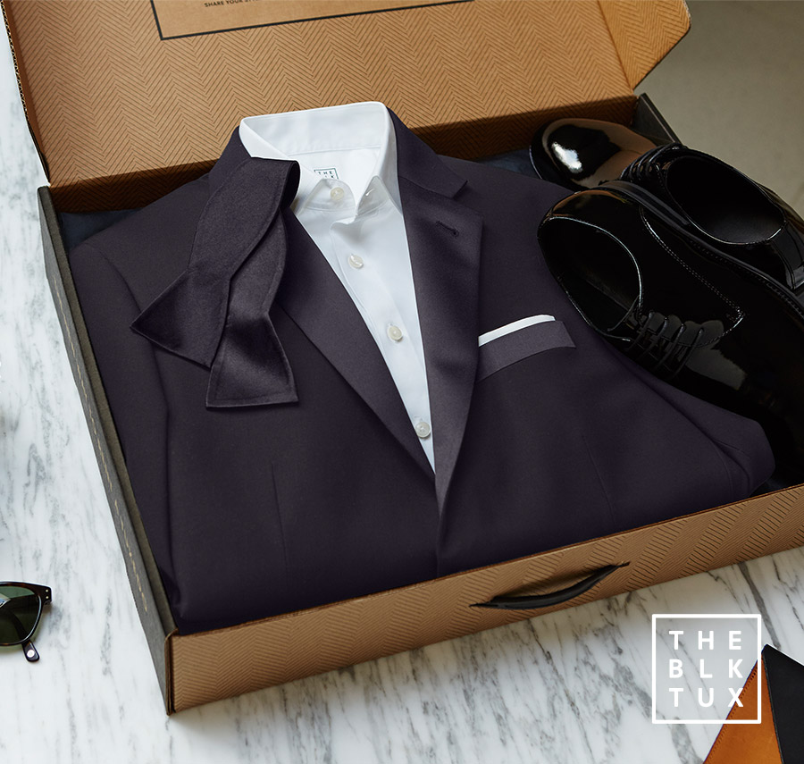 the black tux 2017 online tuxedo rental service classic black tie event box complete groom groomsmen look including bow tie shoes