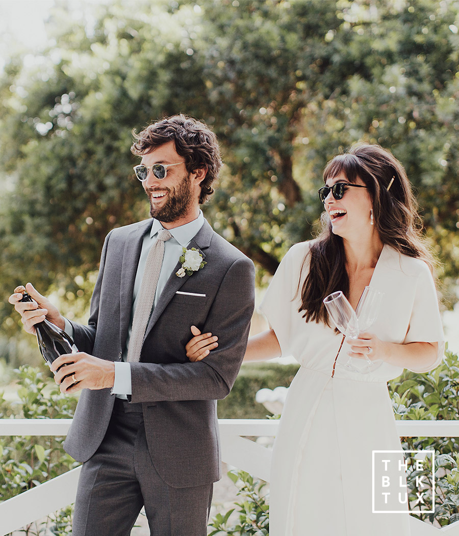 the black tux 2017 online tuxedo rental service grey gray charcoal suit casual fun wedding dress style inspiration