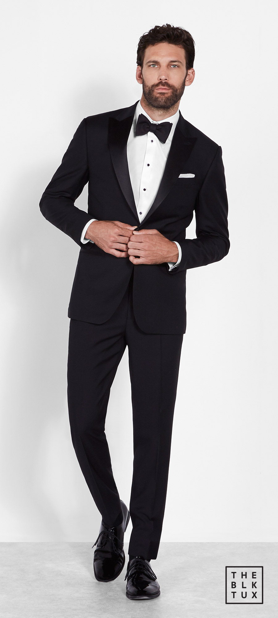 the black tux 2017 online tuxedos rental service the peak lapel tuxedo groommen best man style