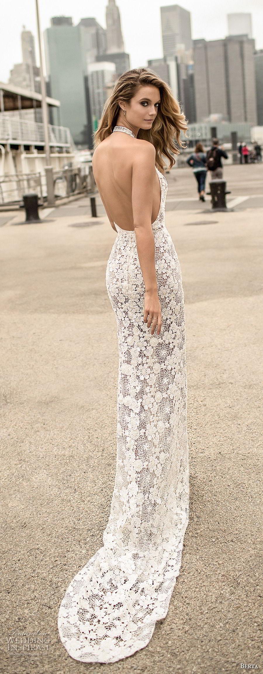 Elegant Sexy Wedding Dresses 61 Awesome berta spring bridal sleeveless