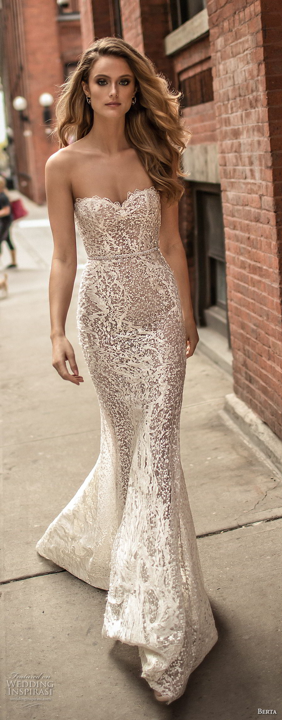 Elegant Sexy Wedding Dresses 96 Simple berta spring bridal strapless