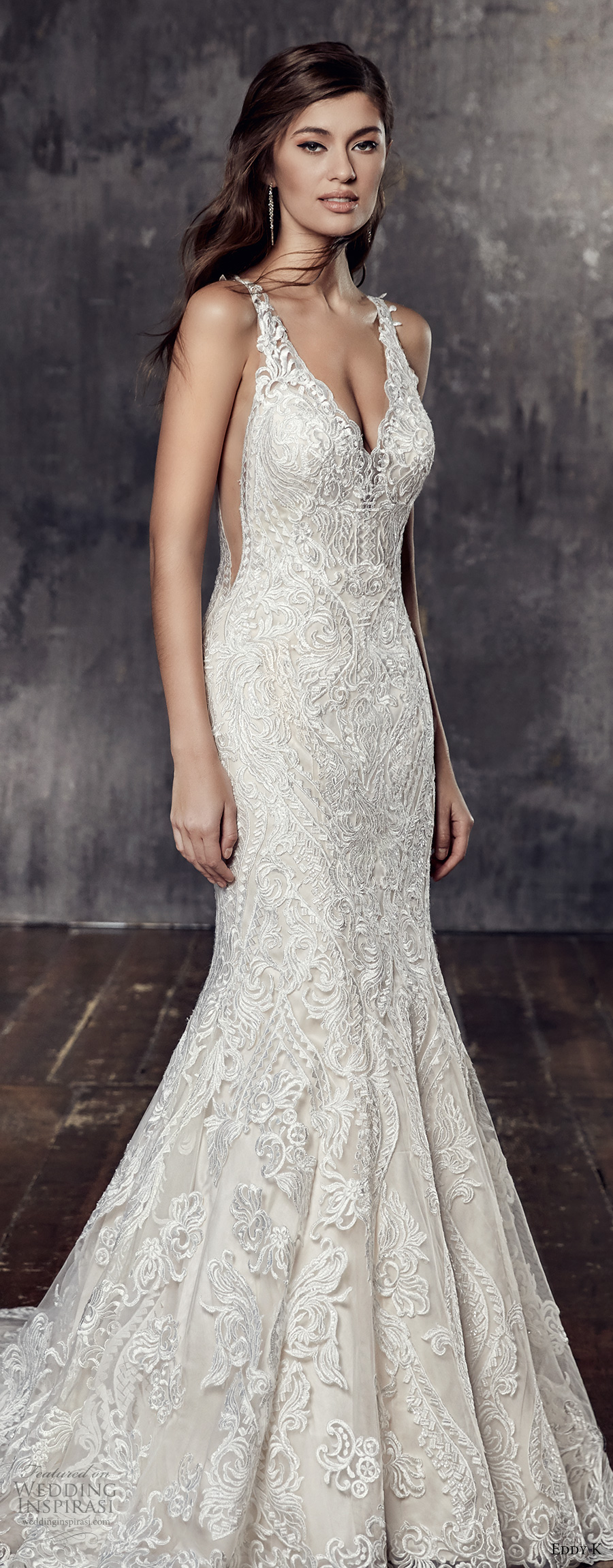 Elegant Lace Wedding Dresses 2018 Discount Wedding Dresses