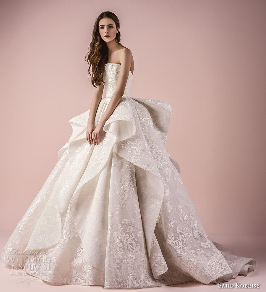 Saiid Kobeisy 2018 Wedding Dresses - BridalPulse