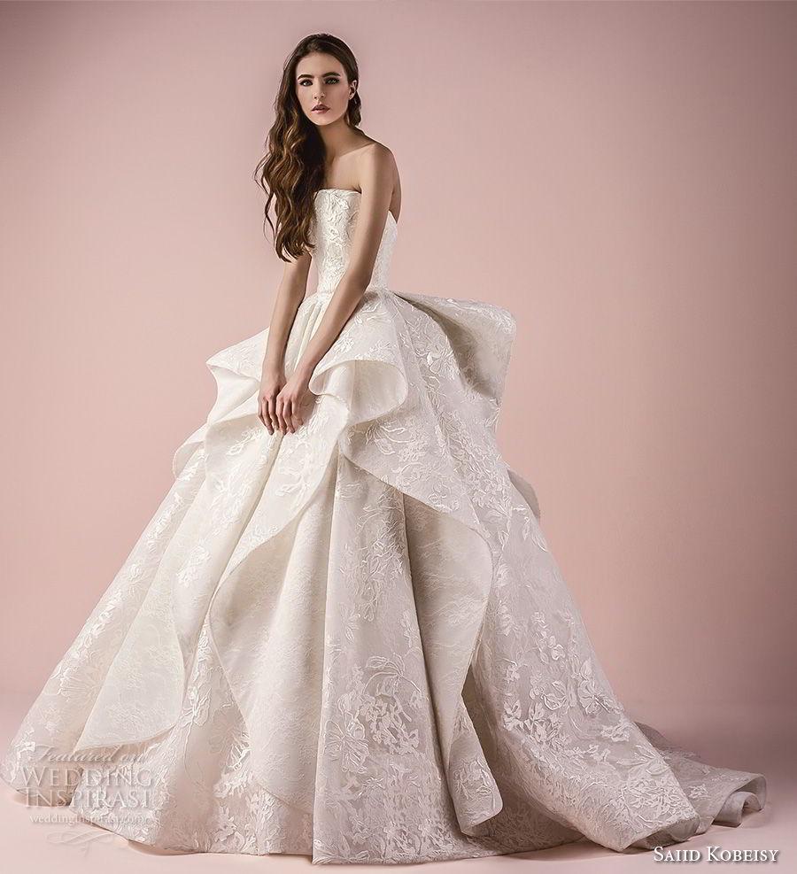 Wedding Dress Gowns Com: Saiid Kobeisy 2018 Wedding Dresses