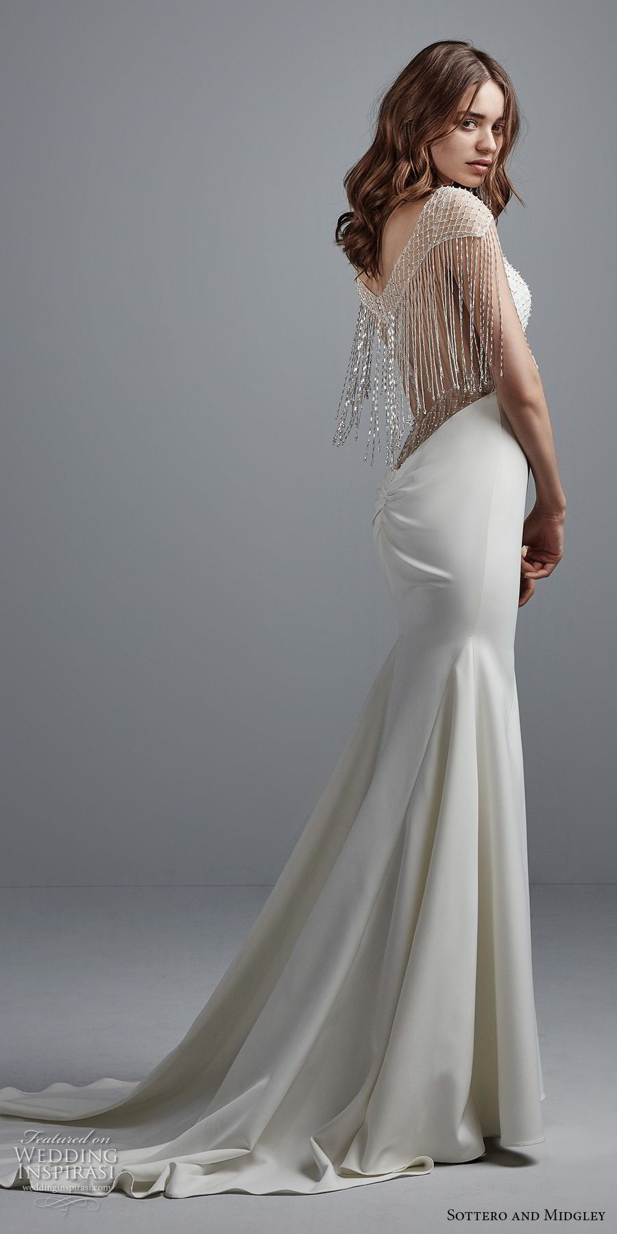 Trubridal wedding blog sottero and midgley fall 2017 for Simple elegant short wedding dresses