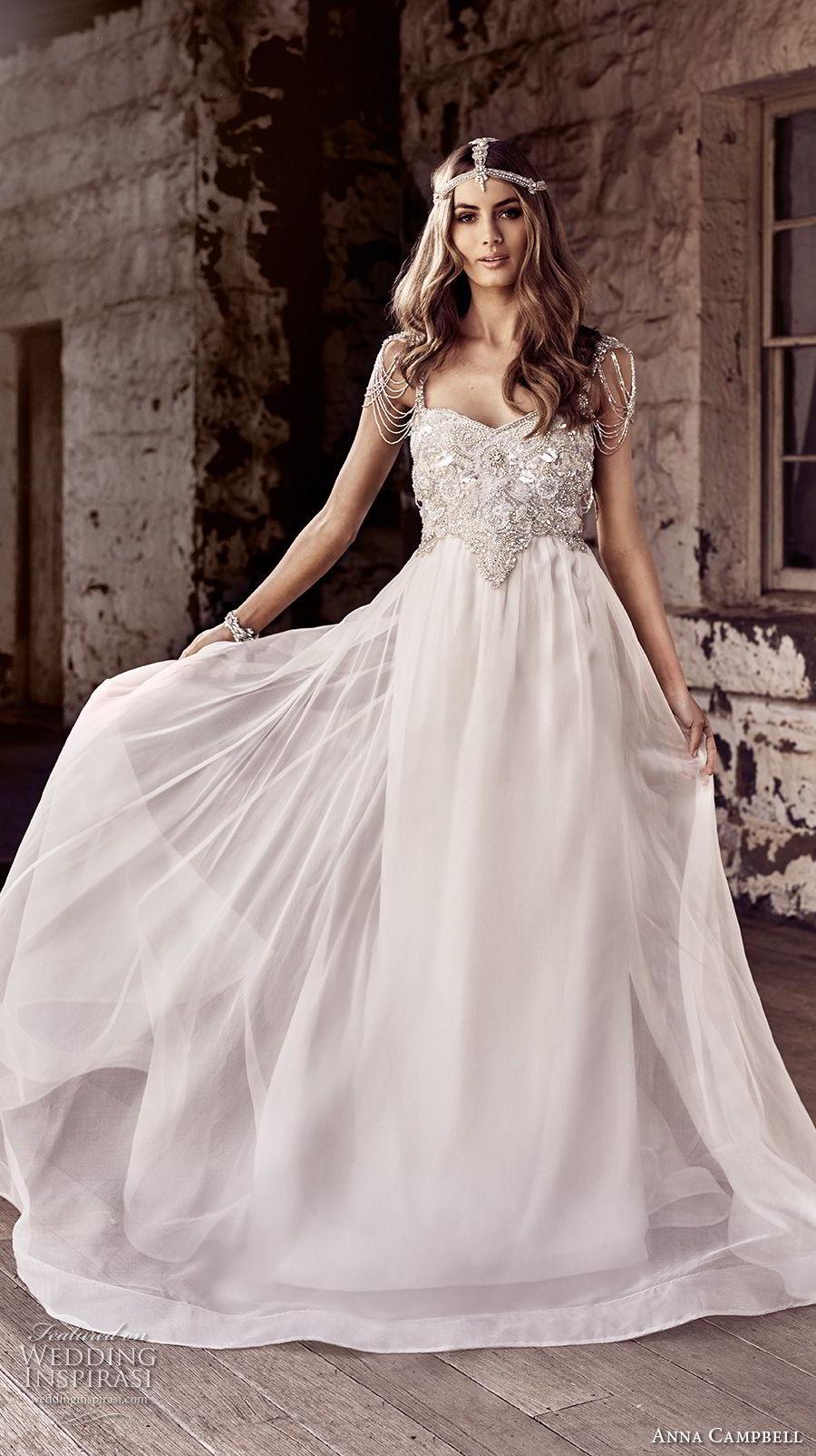 Anna Campbell 20 Wedding Dresses