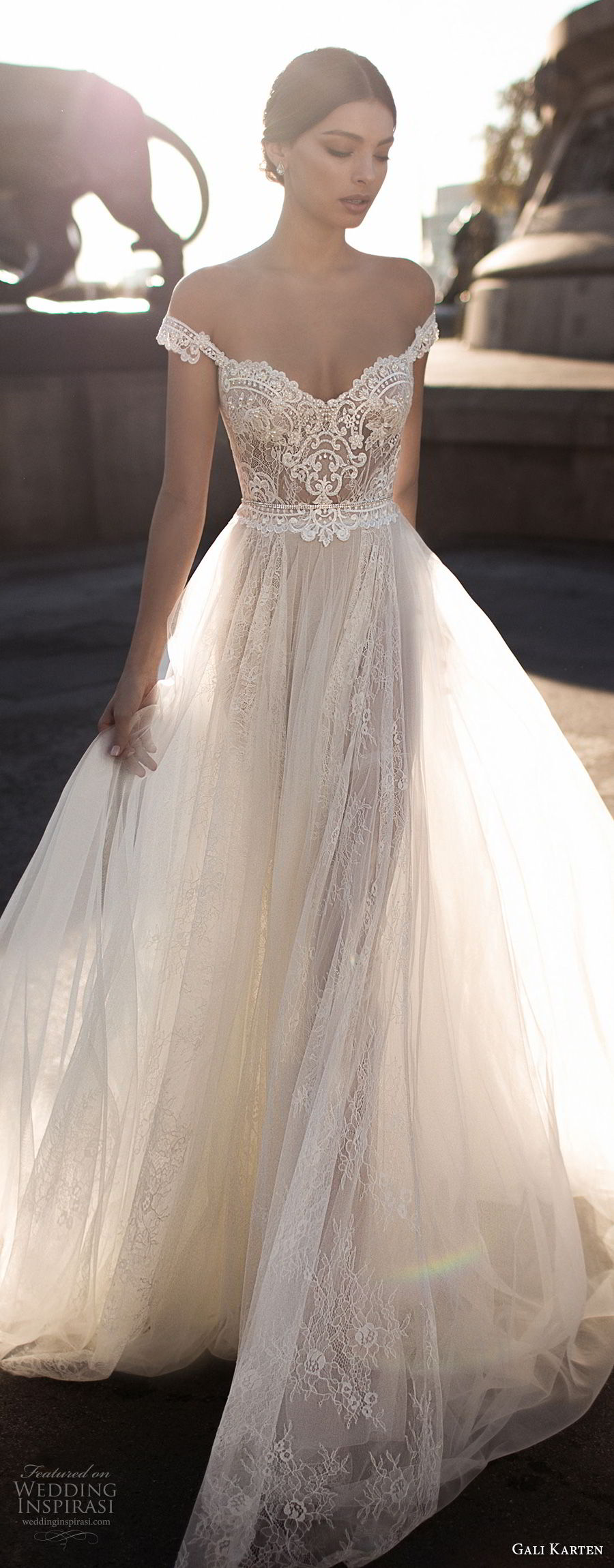 You Will Float Down The Aisle In This A Line Gown S Beautiful Layers And Of Weightless Chiffon Strapless Sweetheart Bodice Is Crafted
