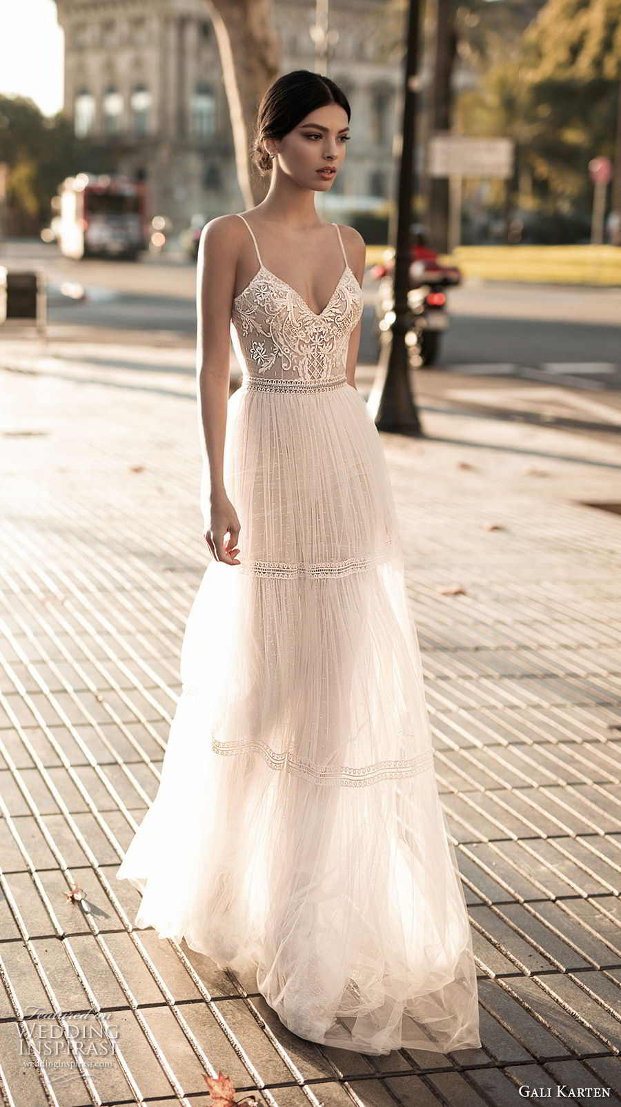 gali karten 2017 bridal spaghetti strap sweetheart neckline heavily embellished bodice sexy romantic soft a line wedding dress open scoop back sweep train (4) mv