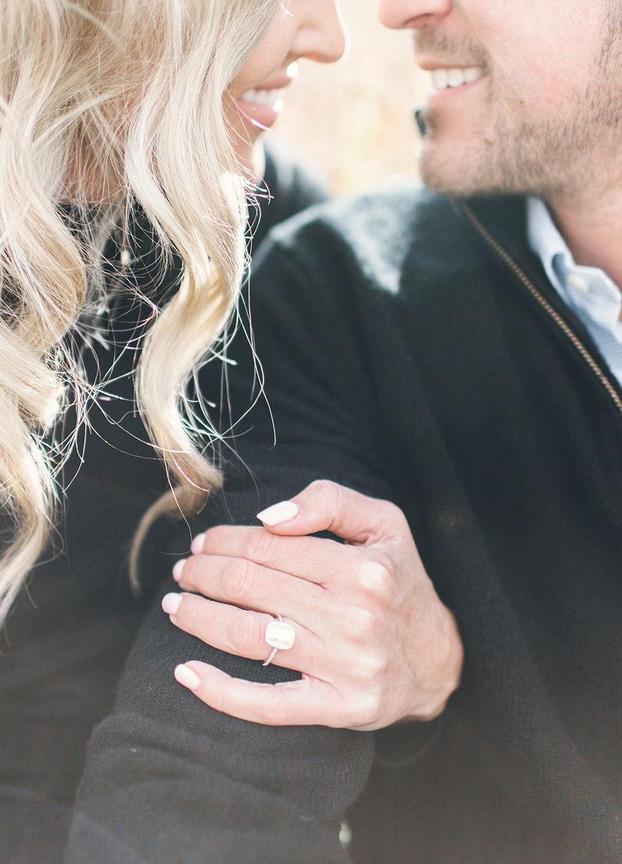 jewelers mutual jewelry insurance engagement ring protection tips honeymoon couple diamond ring