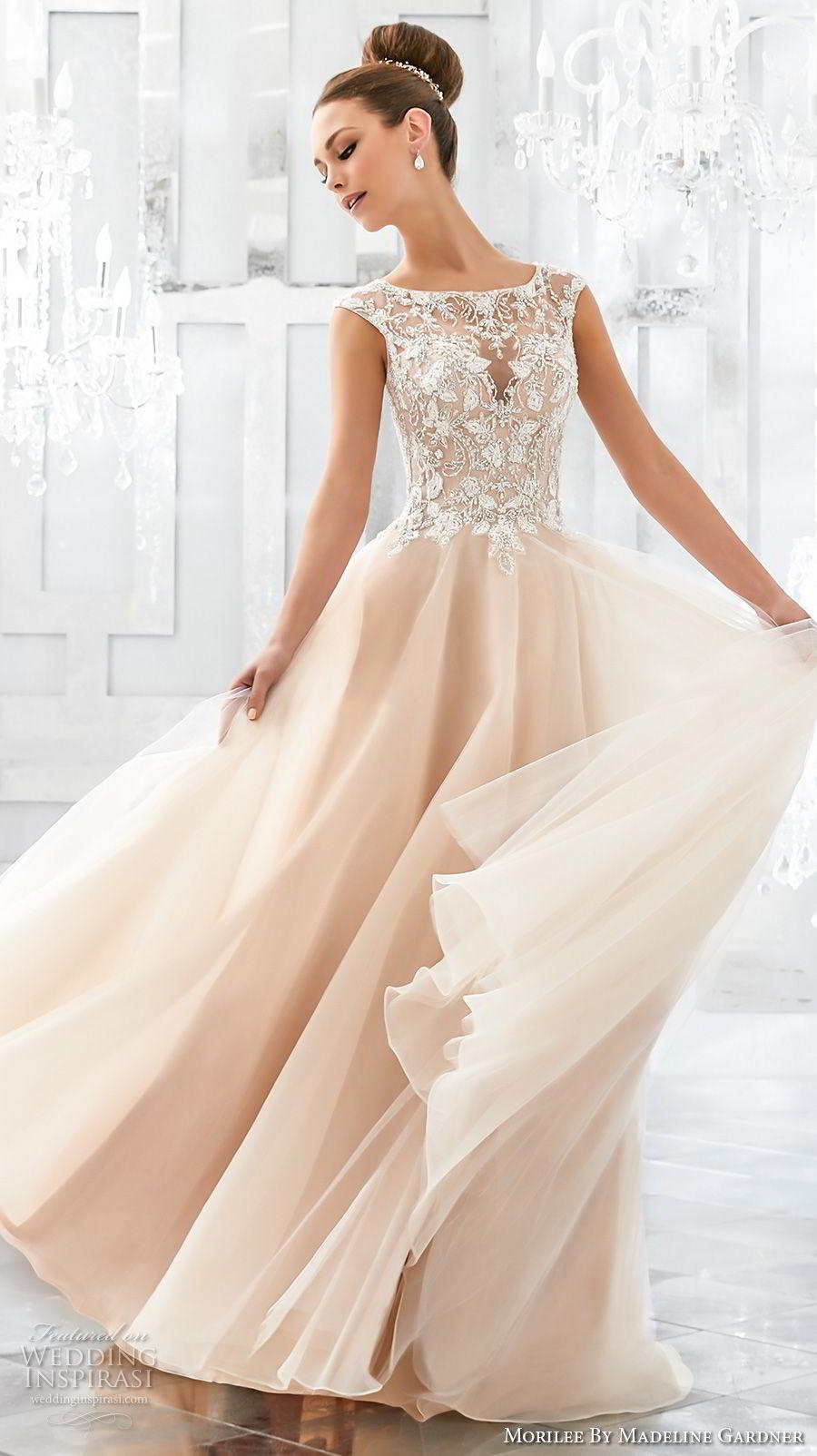 Wedding Dress Mori Lee 73 Vintage morilee fall blu bridal