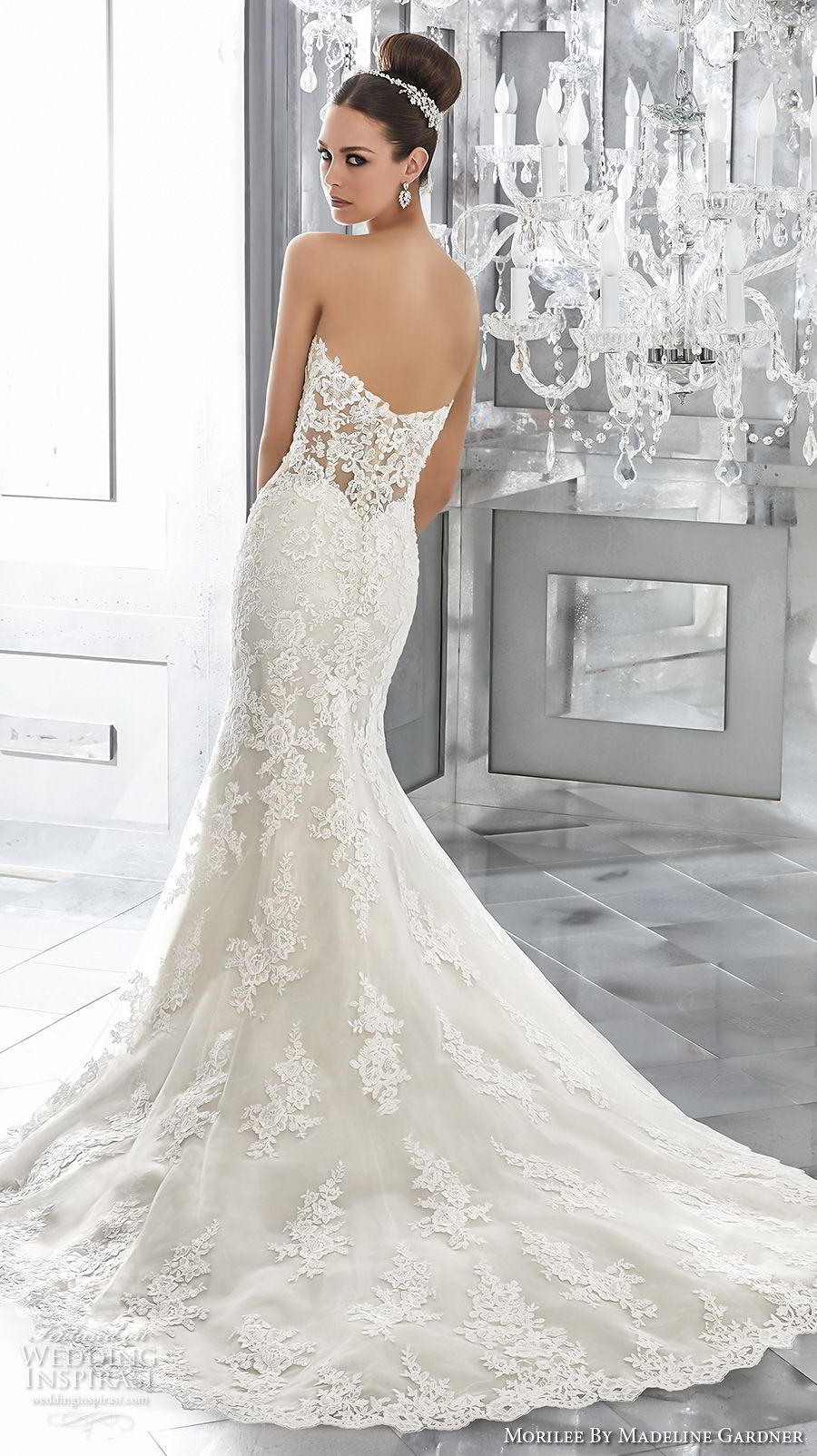 Wedding Dress Mori Lee 84 Beautiful morilee fall blu bridal