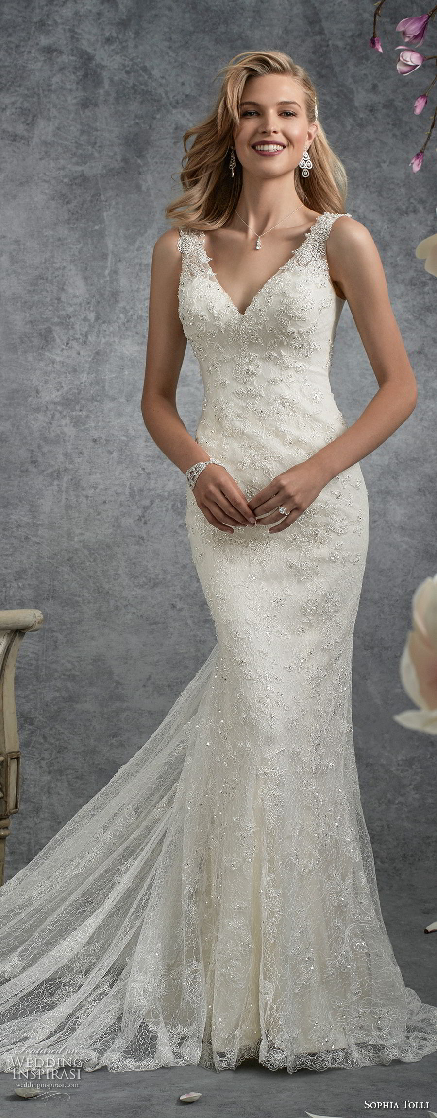 Sophia Tolli Fall 2017 Wedding Dresses Wedding Inspirasi,Casual Summer Beach Wedding Dresses