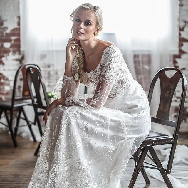 Barbara Kavchok Spring 2018 Wedding Dresses