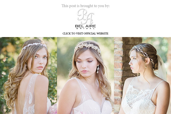 bel aire bridal accessories fall 2017 collection headpiece halo veil banner