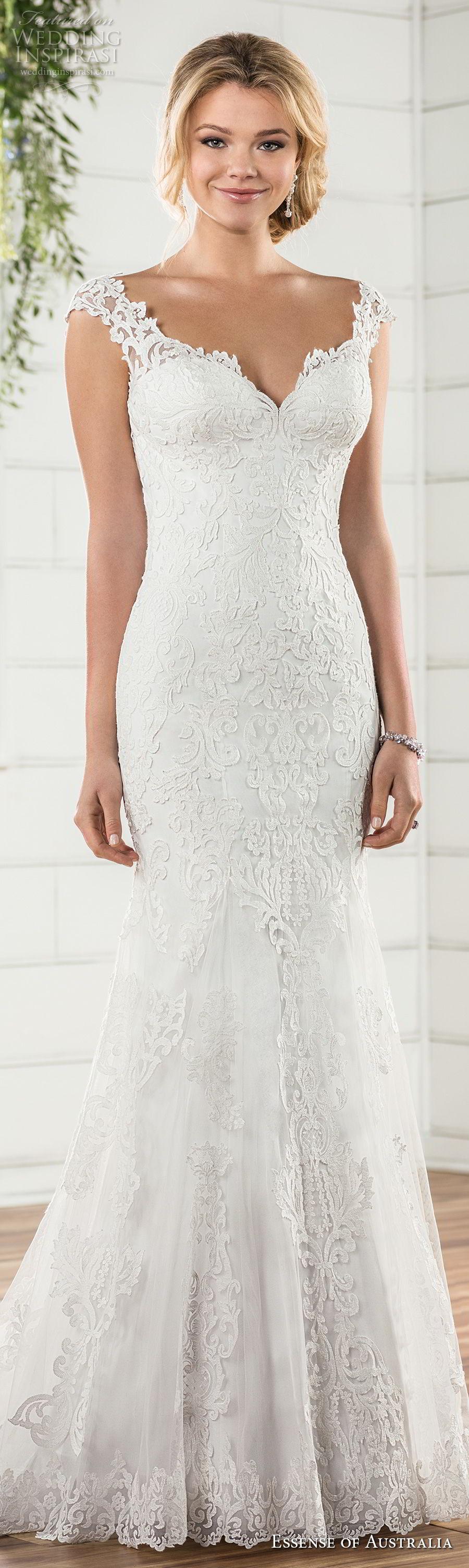 Fit N Flare Wedding Dresses 66 Fancy essense australia fall bridal
