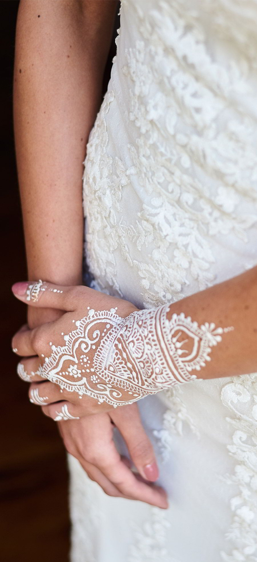 lavender field wedding photo shoot adorn invitations purple gold boho luxe inspiration white henna tattoo