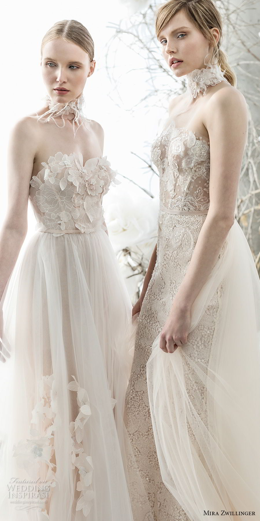 mira zwillinger 2018 bridal romantic pretty beautiful wedding gowns