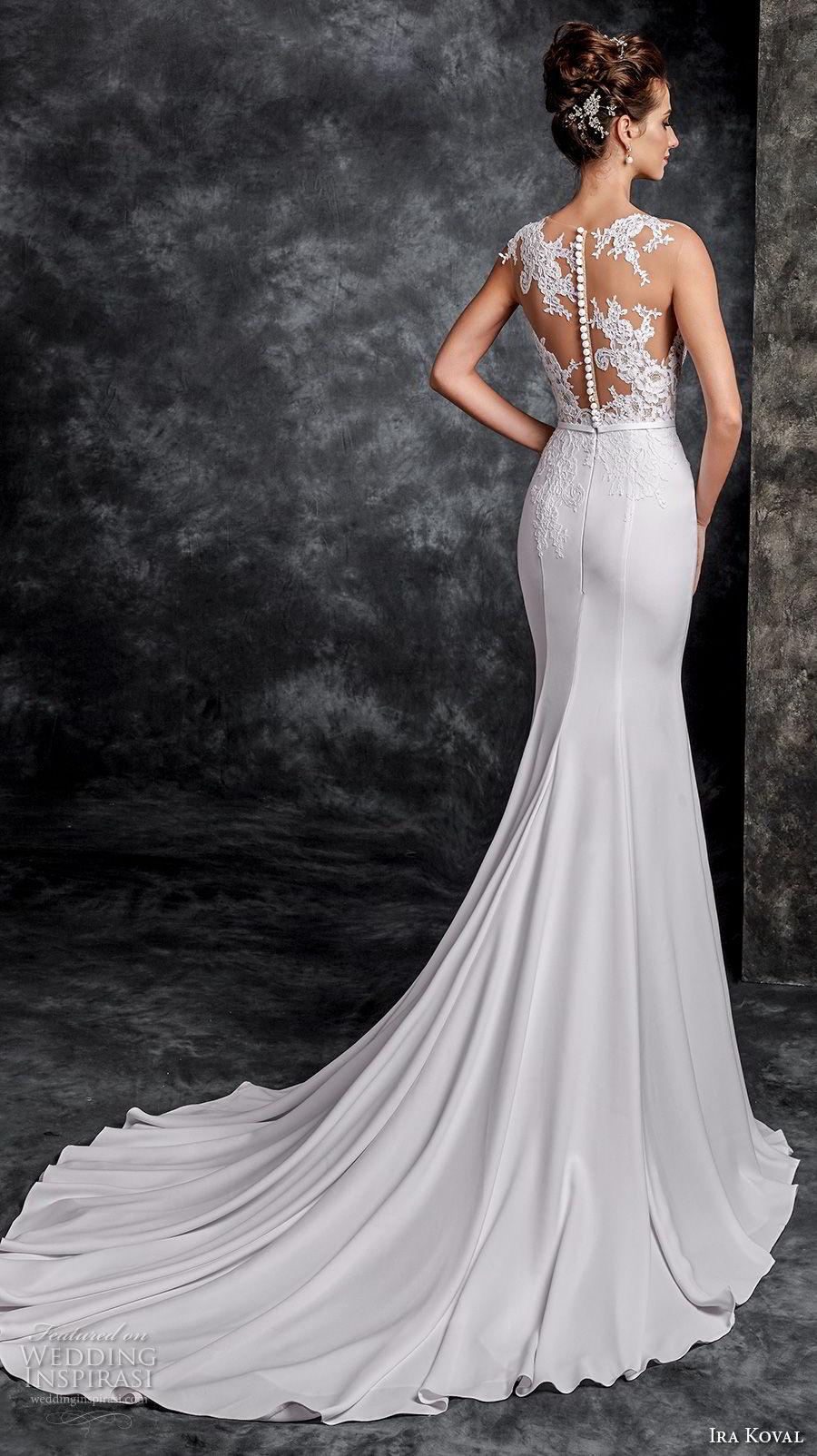 Ira koval 2017 wedding dresses wedding inspirasi page 2 for Lace button back wedding dress