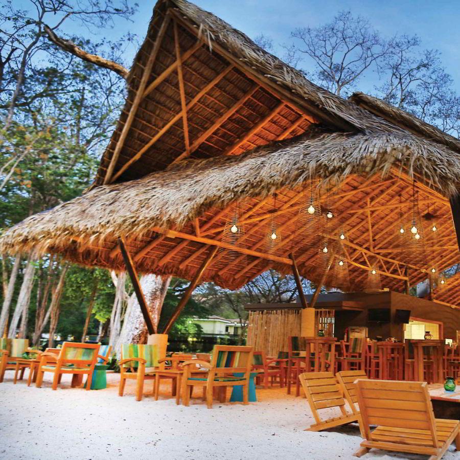 beach wedding inspiration marriott el mangroove guanacaste costa rica honeymoon destination romantic sand floor restaurant matiss