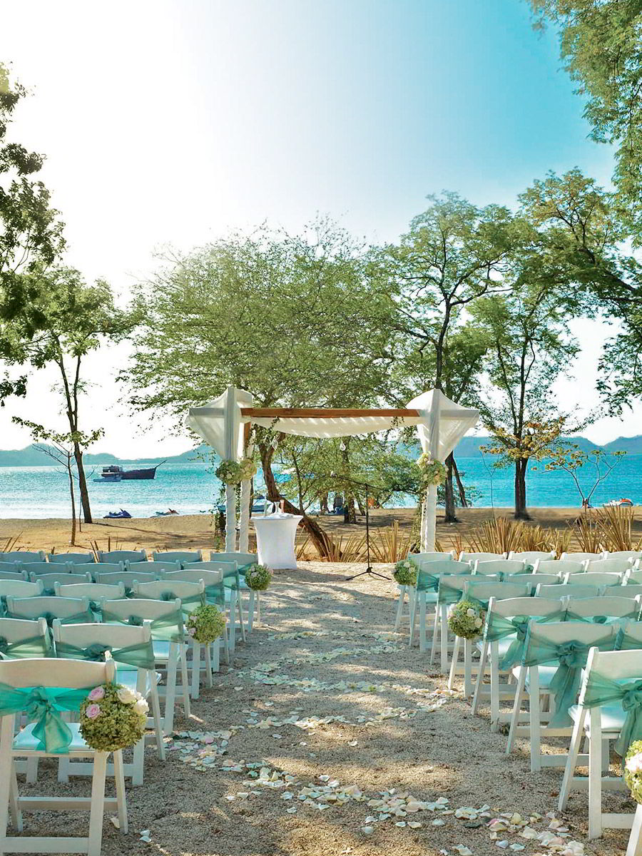 beach wedding inspiration marriott el mangroove guanacaste costa rica honeymoon destination romantic seaside wedding venue