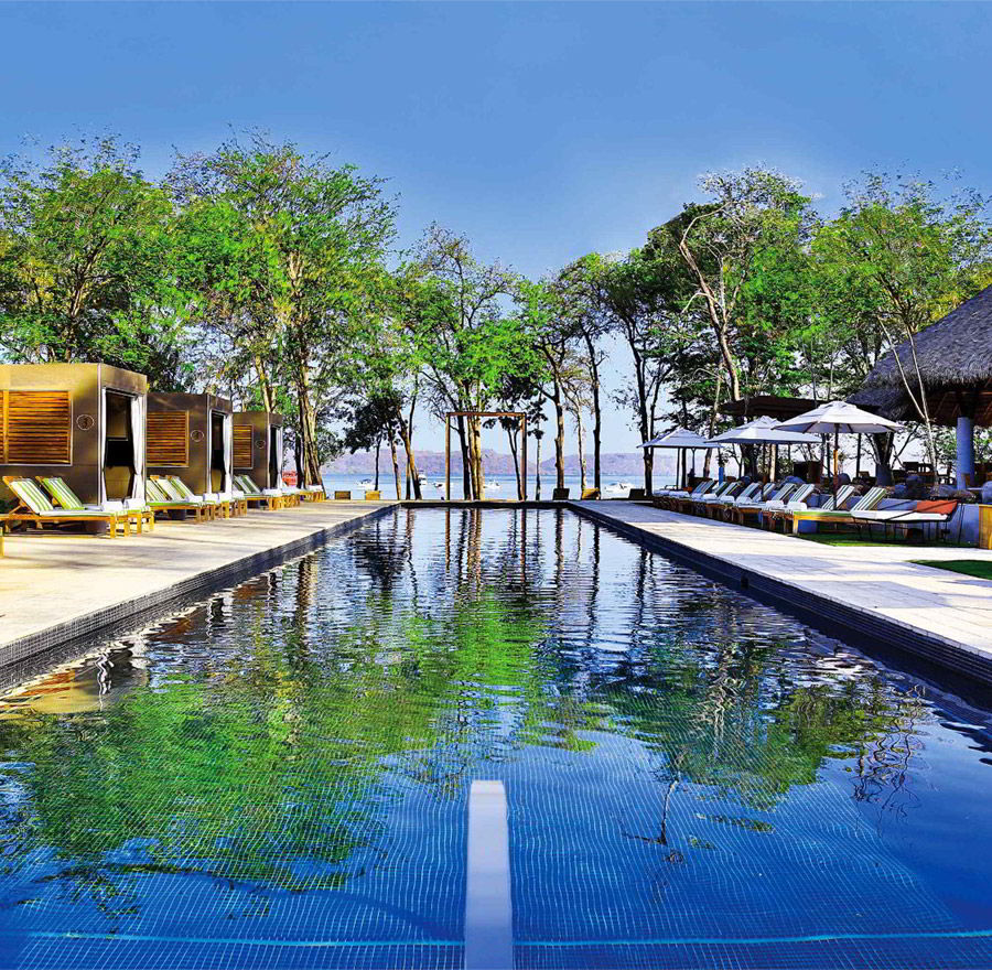 beach wedding inspiration marriott el mangroove guanacaste costa rica honeymoon destination wedding venue outdoor lap pool