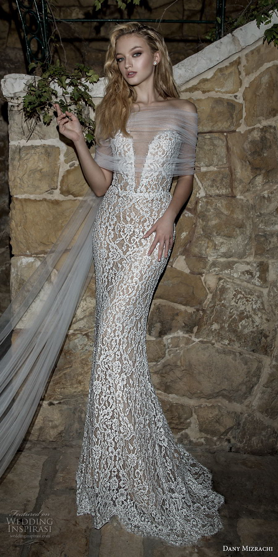Dany mizrachi spring 2018 wedding dresses jerusalem for V neck strapless wedding dress