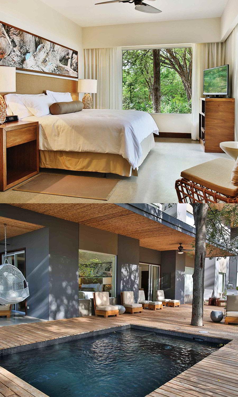 el mangroove gulf papagayo guanecaste costa rica boutique hotel honeymoon wedding venue mangle presidential suite bedroom whirpool luxury