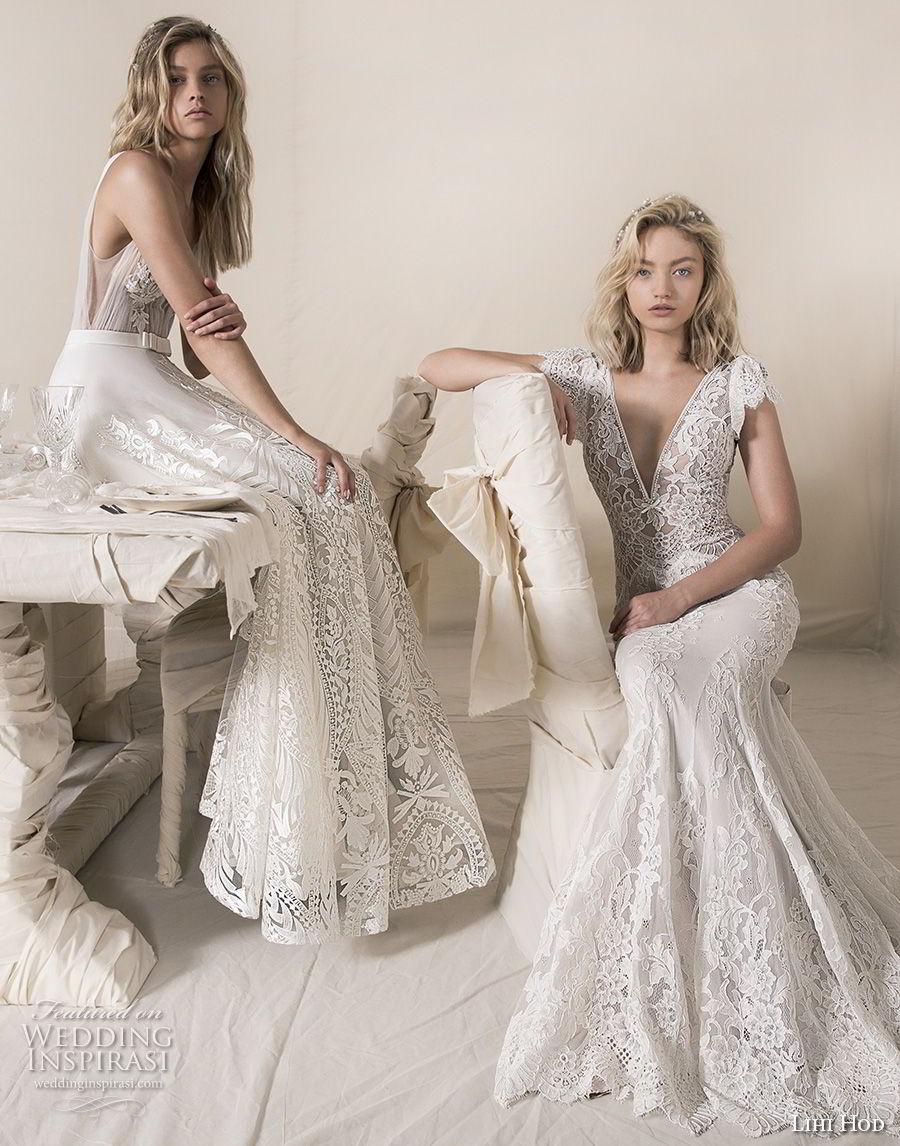 lihi hod 2018 bridal boheiman romantic wedding dresses wedding gowns bridal collection