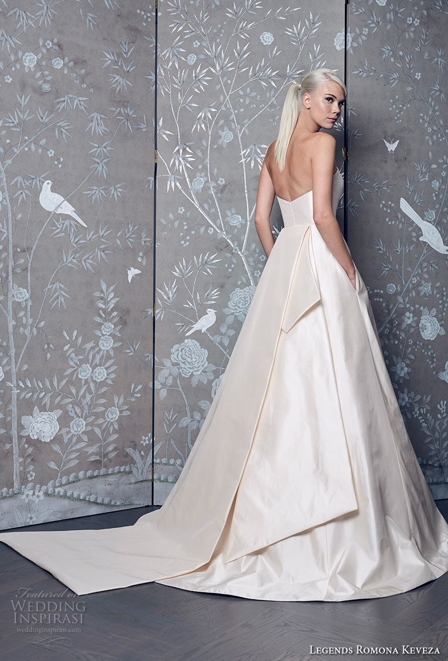 legends romona keveza fall 2018 strapless a line wedding dress romanitc classic a line wedding dress with pockets chapel train (8) mv